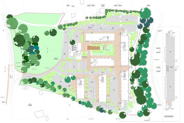 Testwood Park Masterplan \ Totton