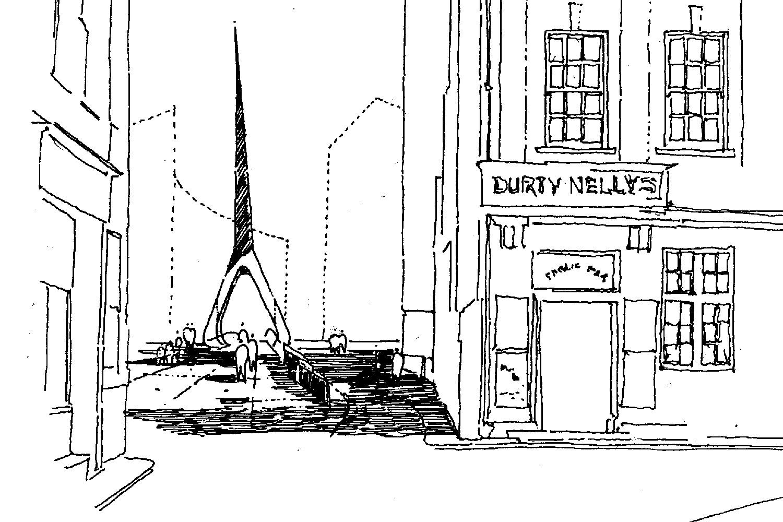Design Engine Hull Bridge visualisation sketch
