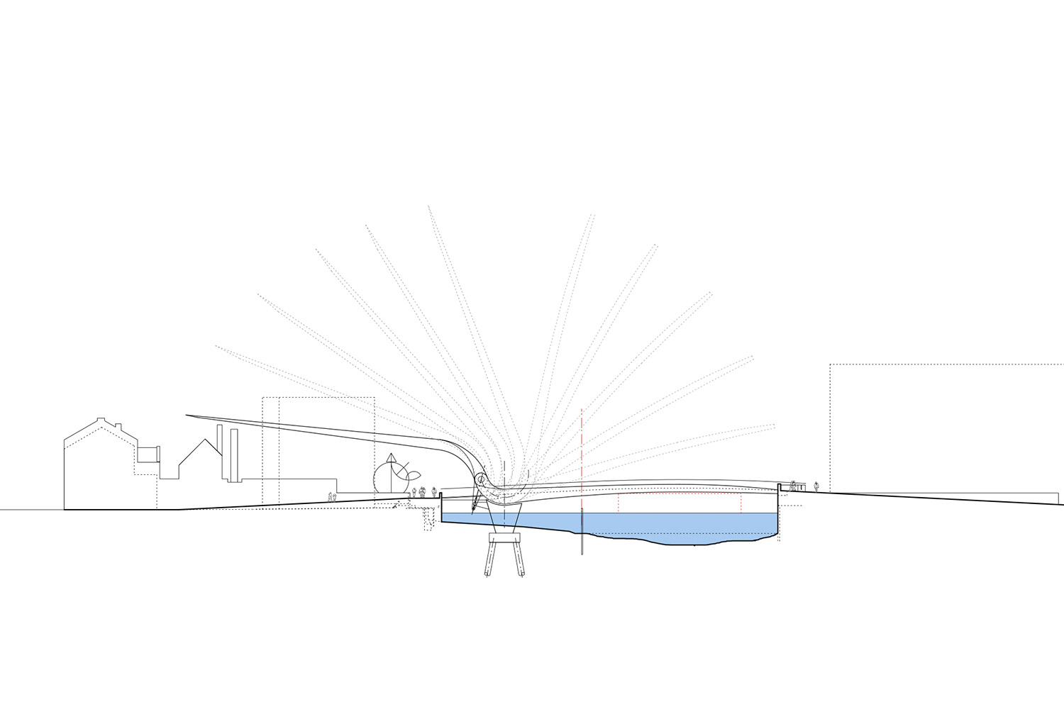 Design Engine Hull Bridge visualisation with movement
