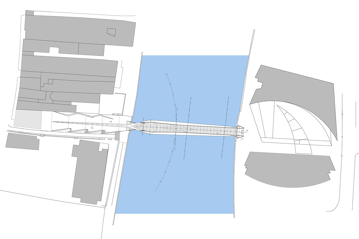Design Engine Hull Bridge visualisation aerial view