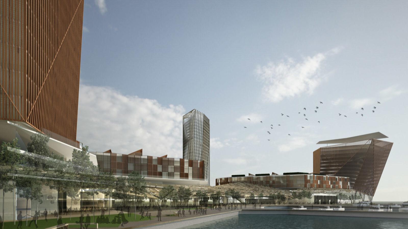 DesignEngine Jesselton Quay Visualisation