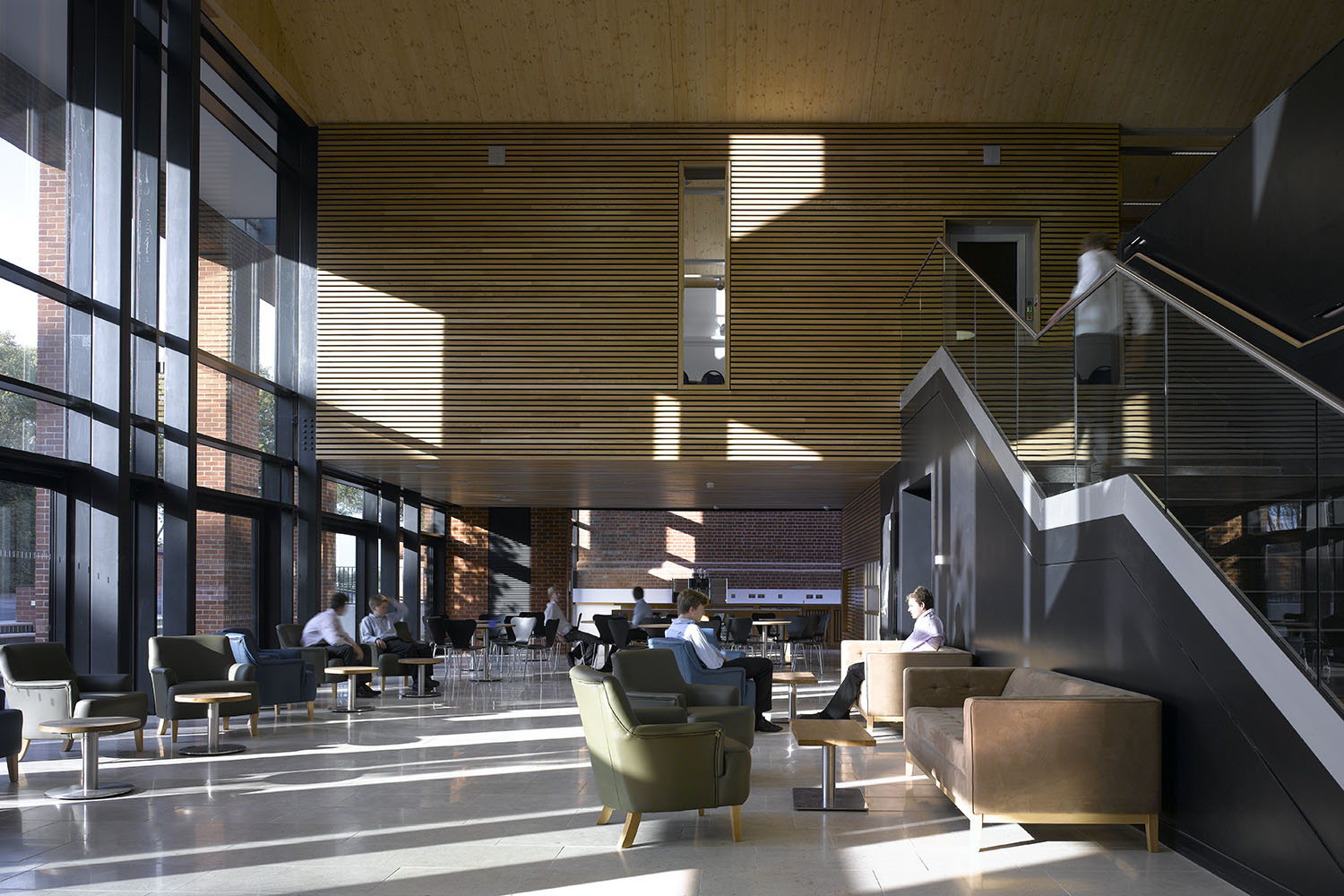 Design Engine's Radley College Timber Interior