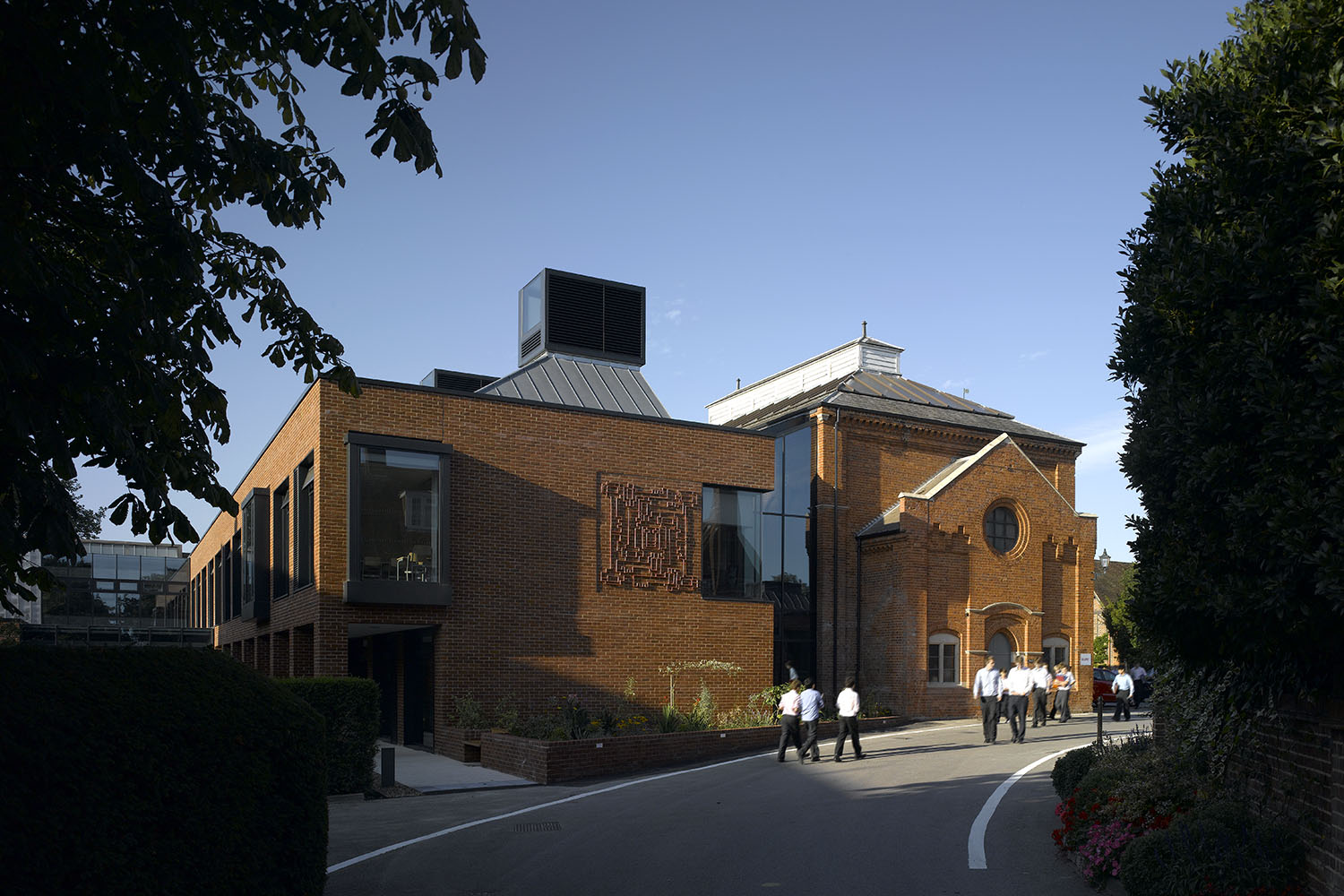 Design Engine's Radley College Exterior