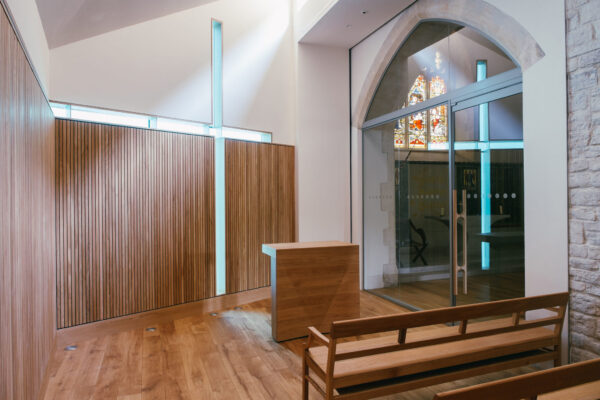 Design Engine UoW Chapel Interior