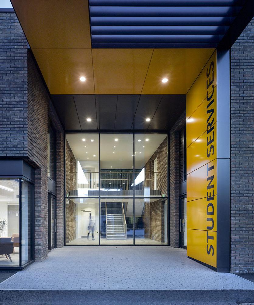 Design Engine AUB Student Services Entrance