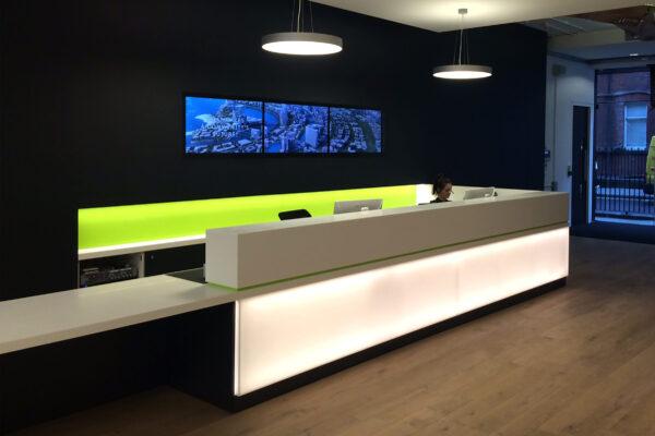 DesignEngineBuro Happold London Front Desk