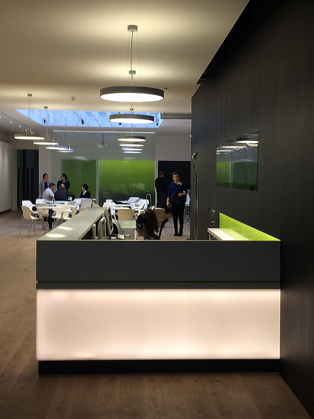 DesignEngineBuro Happold London Front Desk