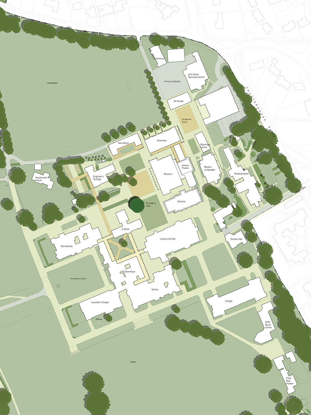 Design Engine Charterhouse Masterplan