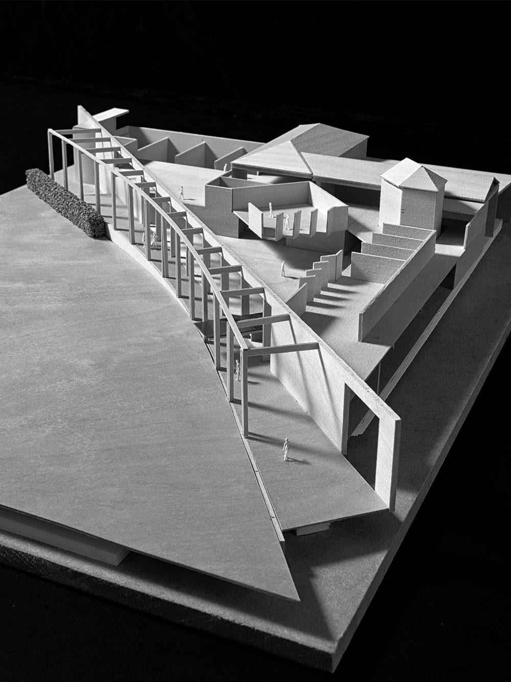 Design Engine Charterhouse Sports Centre Model