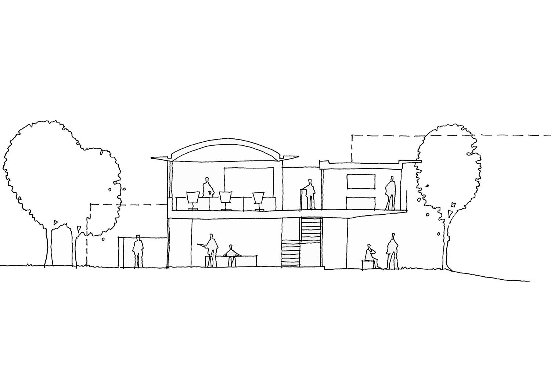 Design Engine Chemicals Company HQ Sketch