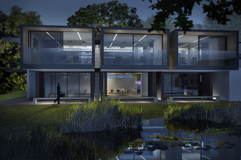 Design Engine Chemicals Company HQ visualisation