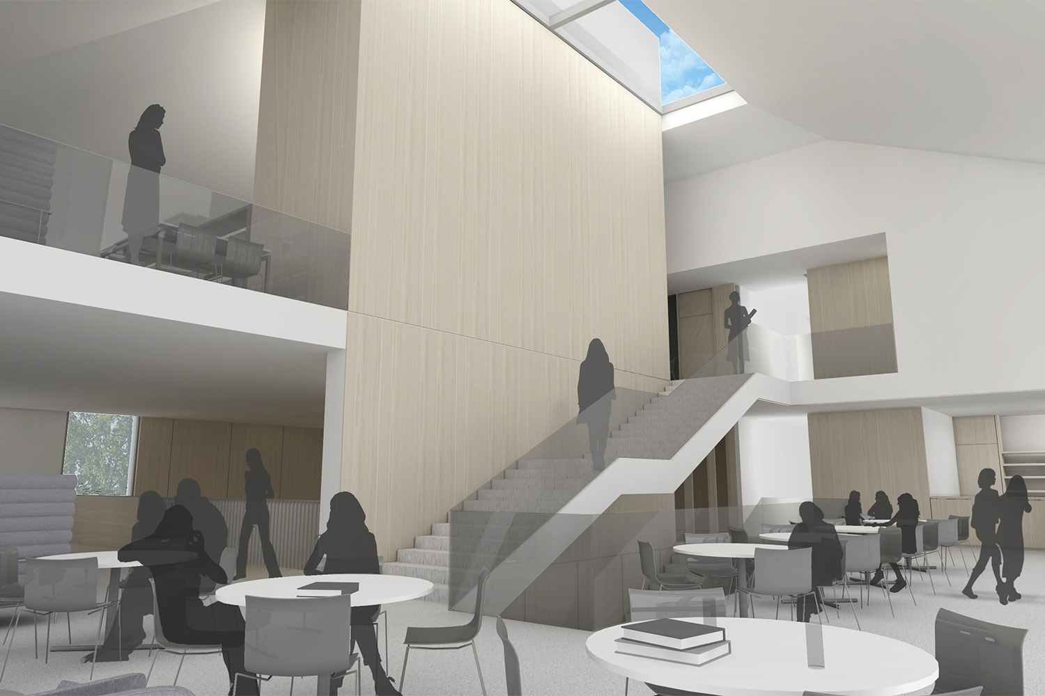 Design Engine Downe House visualisation interior