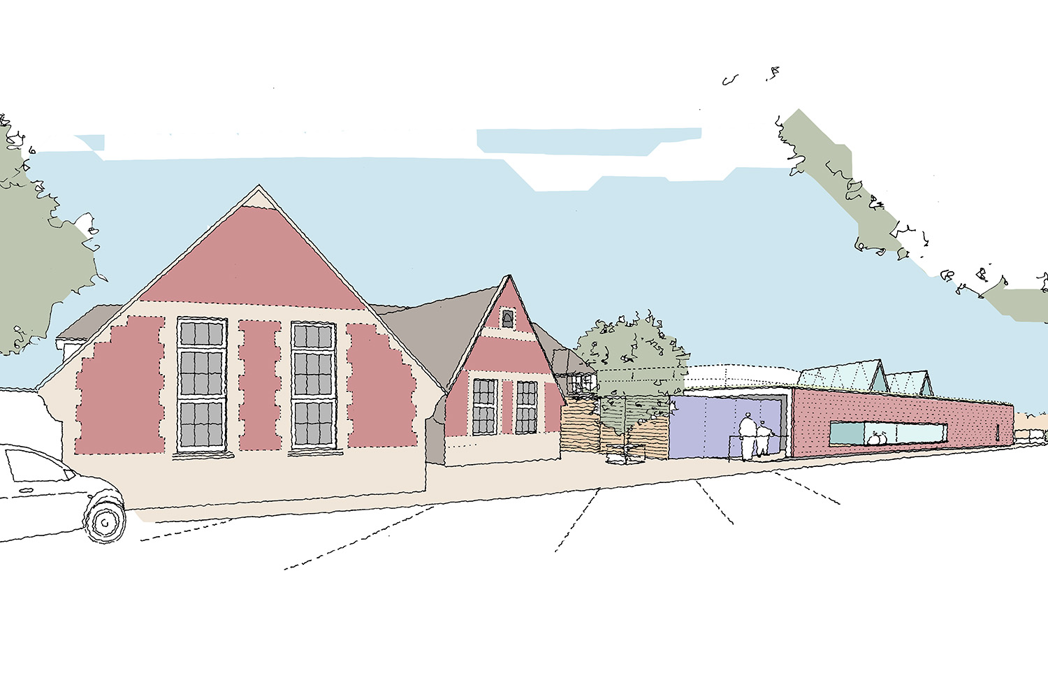 Design Engine John Keble Primary School Sketch