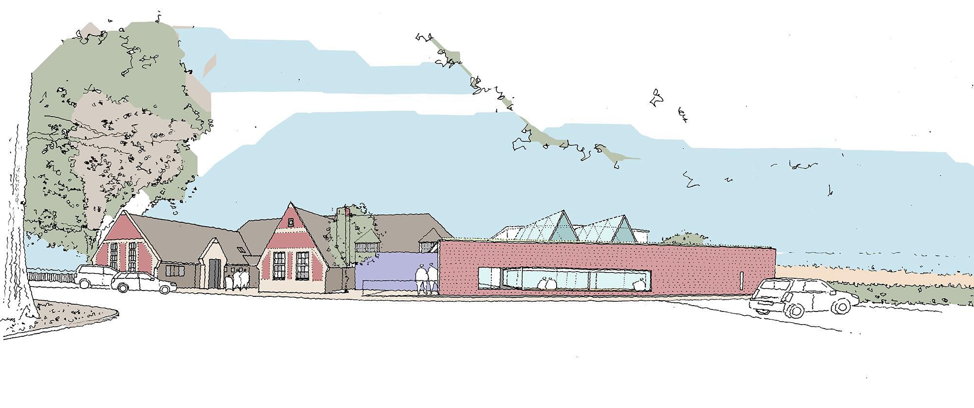 Design Engine John Keble Primary School Sketch