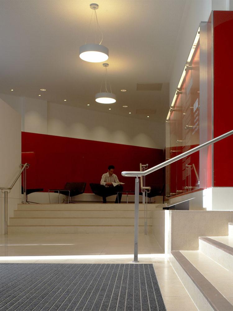 Design Engine London School Economics Reception Refurbishment