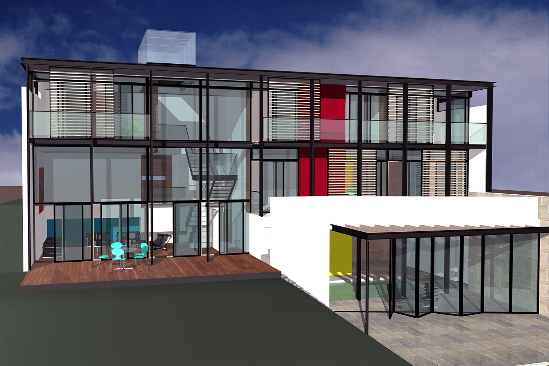 Design Engine Mount Grace Drive Poole Visualisation