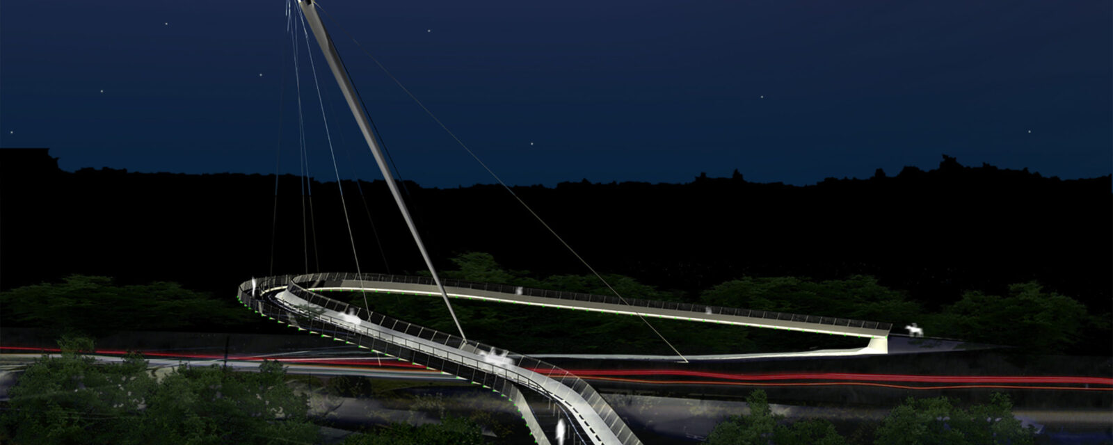 Design Engine Parkway Bridge Visual