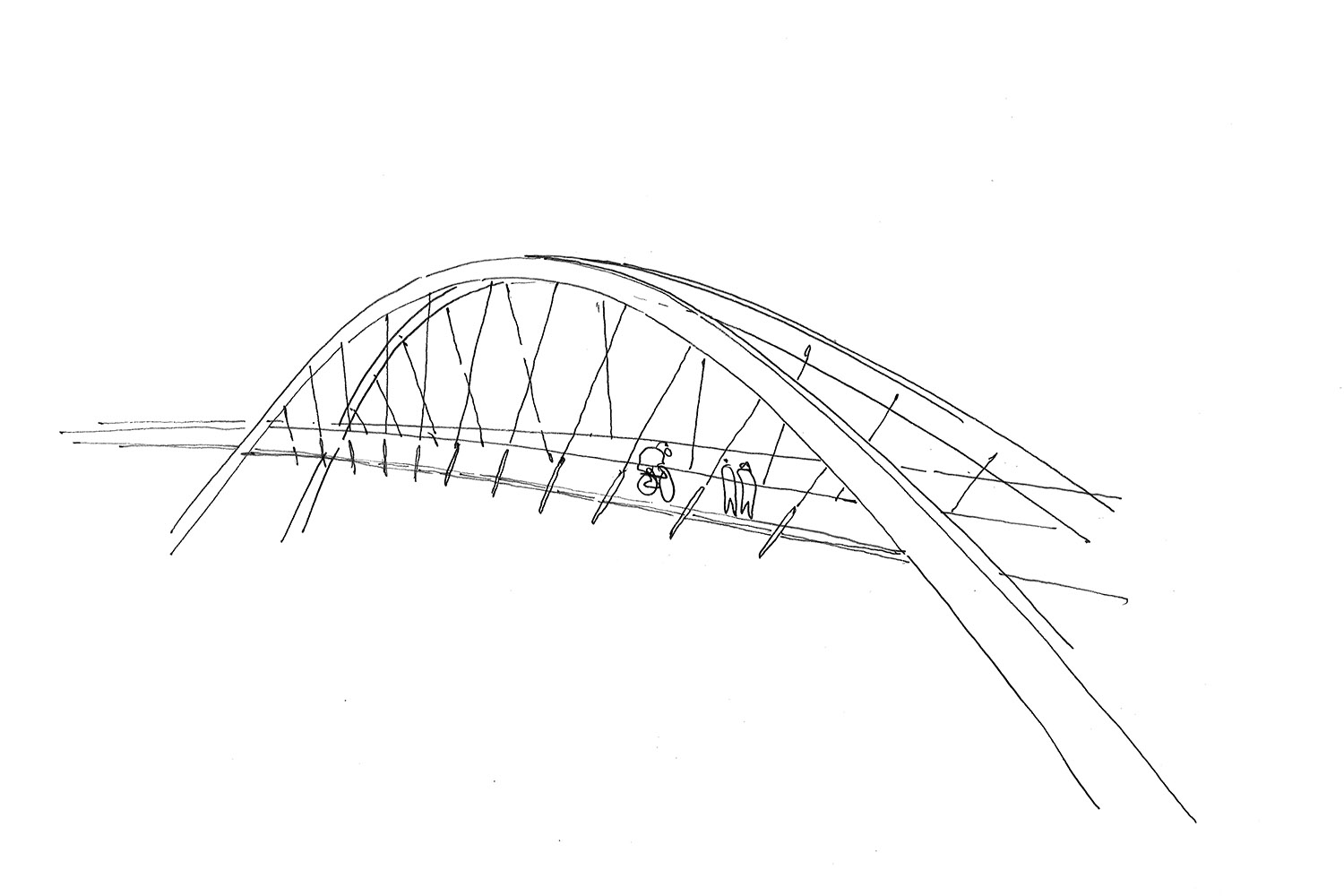 DesignEngine Redhayes Bridge sketch
