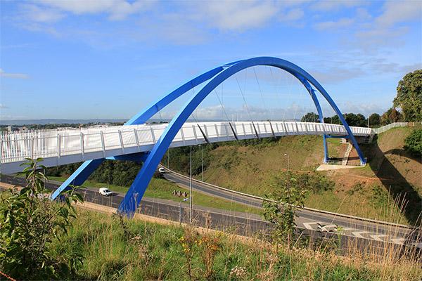 Redhayes Pedestrian Bridge \ M5 Exeter