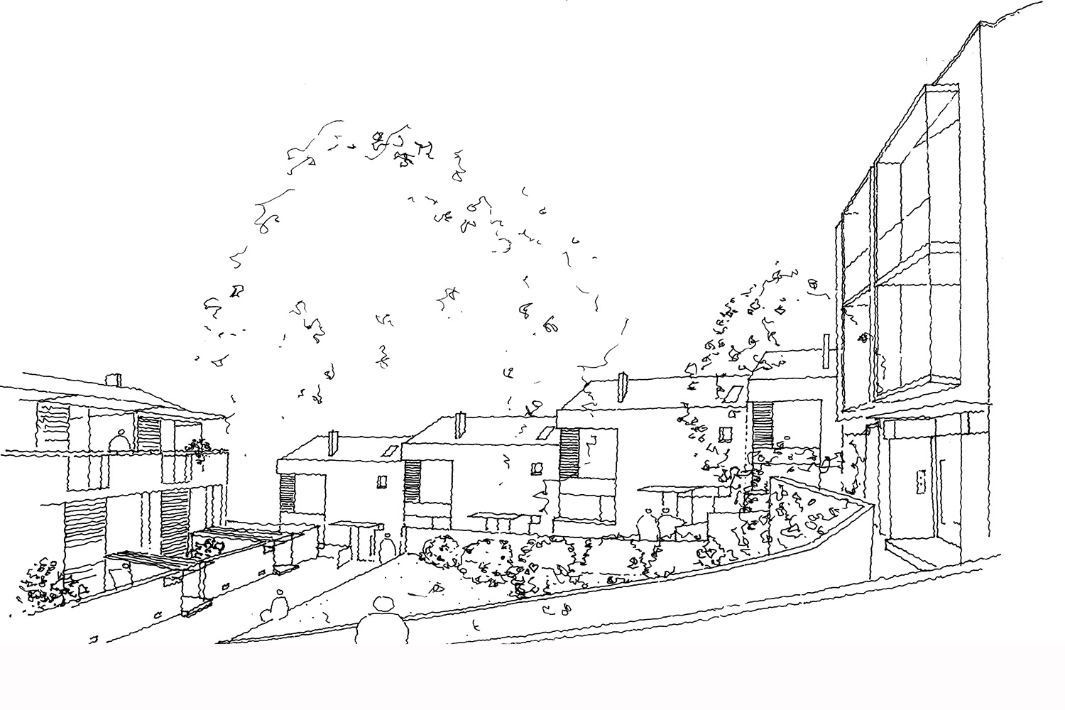 Design Engine Roseville Housing Sketch