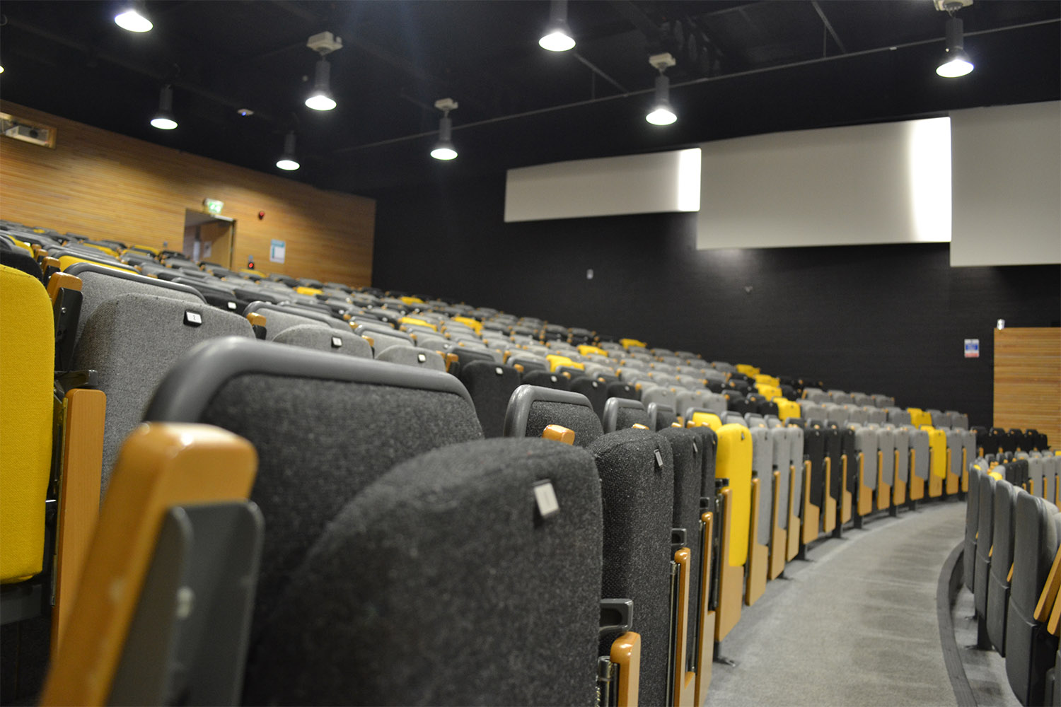 Design Engine Stripe Lecture Theatre Seating