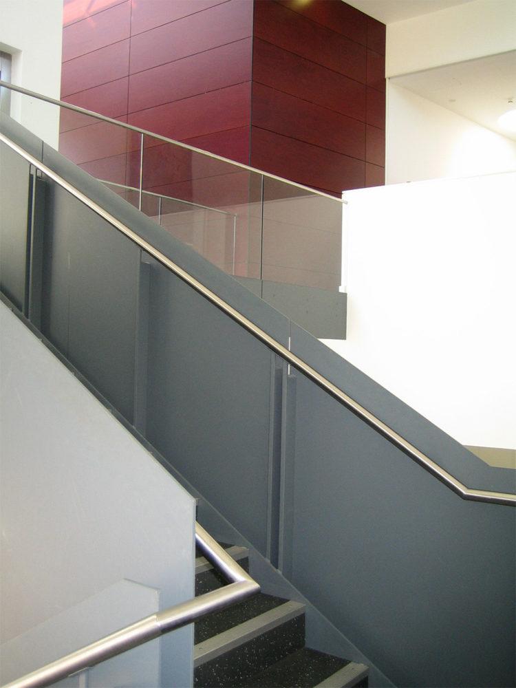 Design Engine Stripe Lecture Theatre Stairwell
