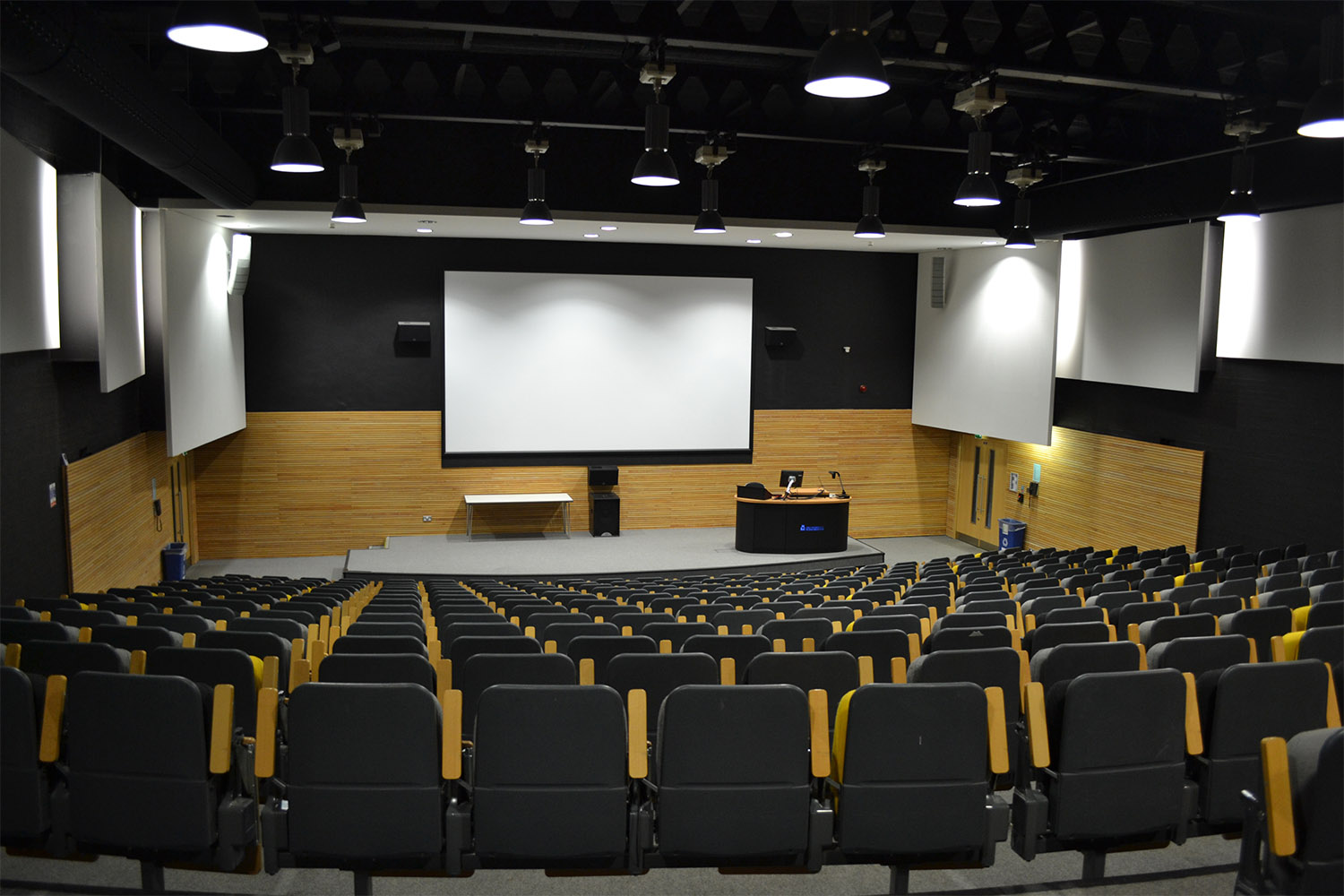 Design Engine Stripe Lecture Theatre