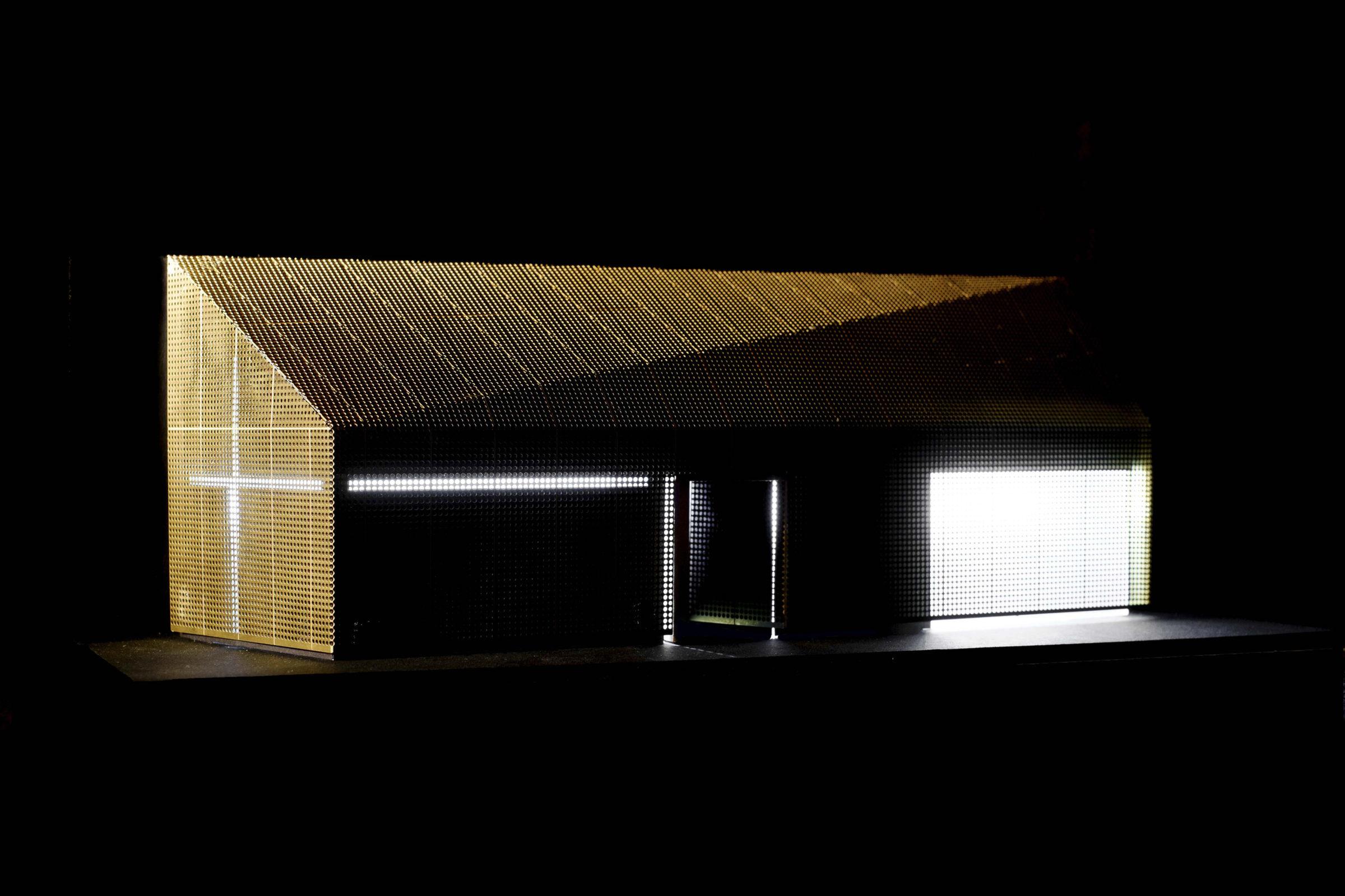 Design Engine UoW Chapel Model Shot