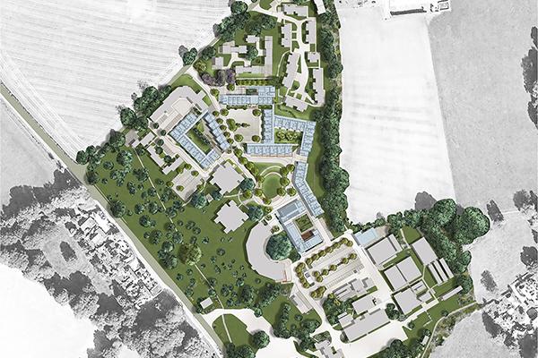 Cedar Park Masterplan \ Enham Alamein