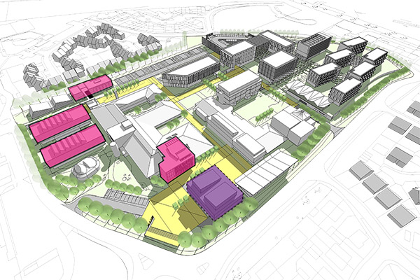 AUB Masterplan \ Arts University Bournemouth