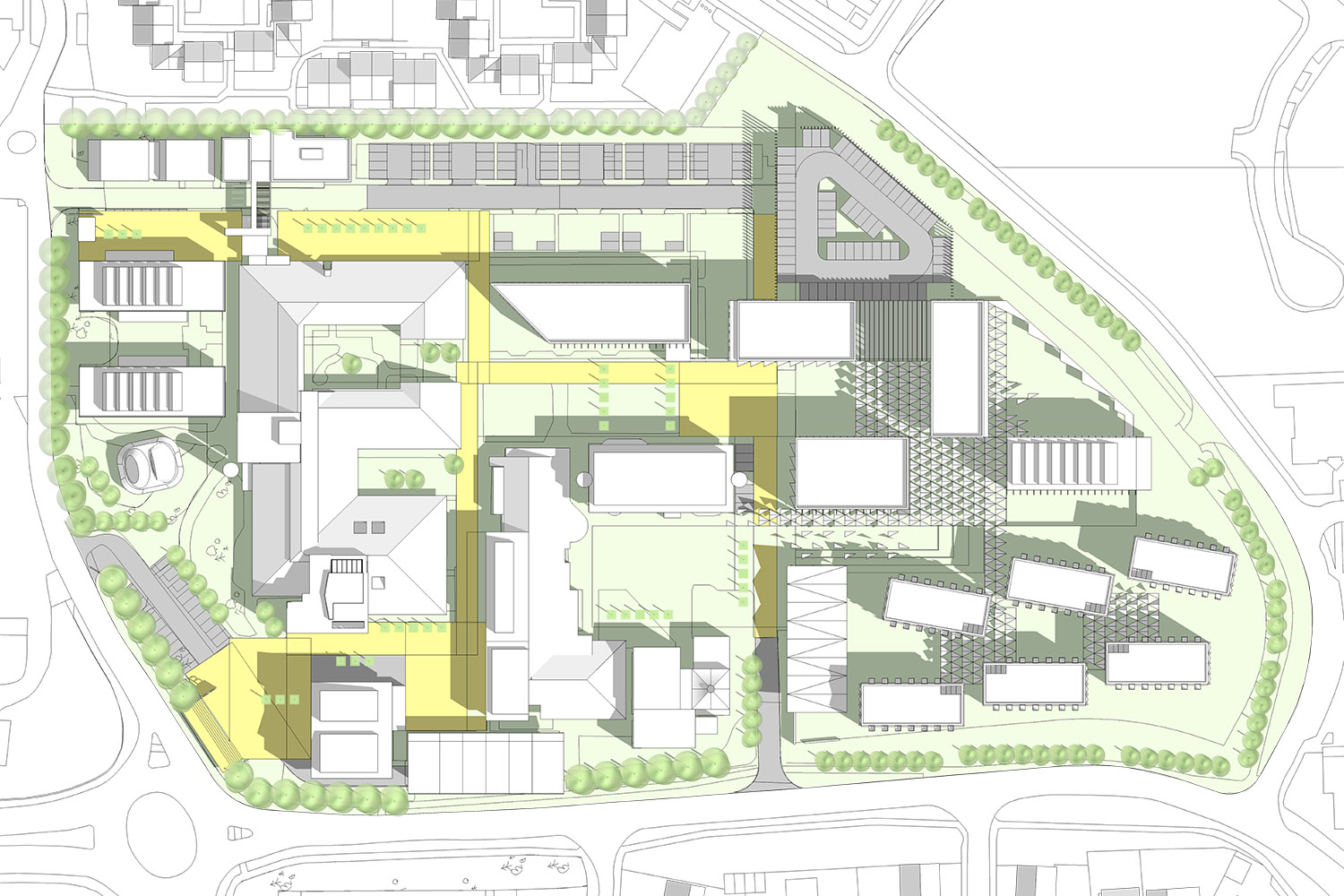 Design Engine's Arts University Bournemouth Masterplan