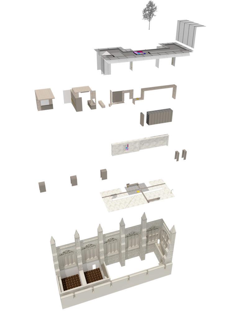 DesignEngine Chapel Yard axonometric