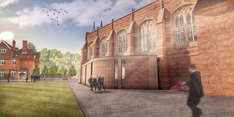 DesignEngine Radley Chapel Visualisation