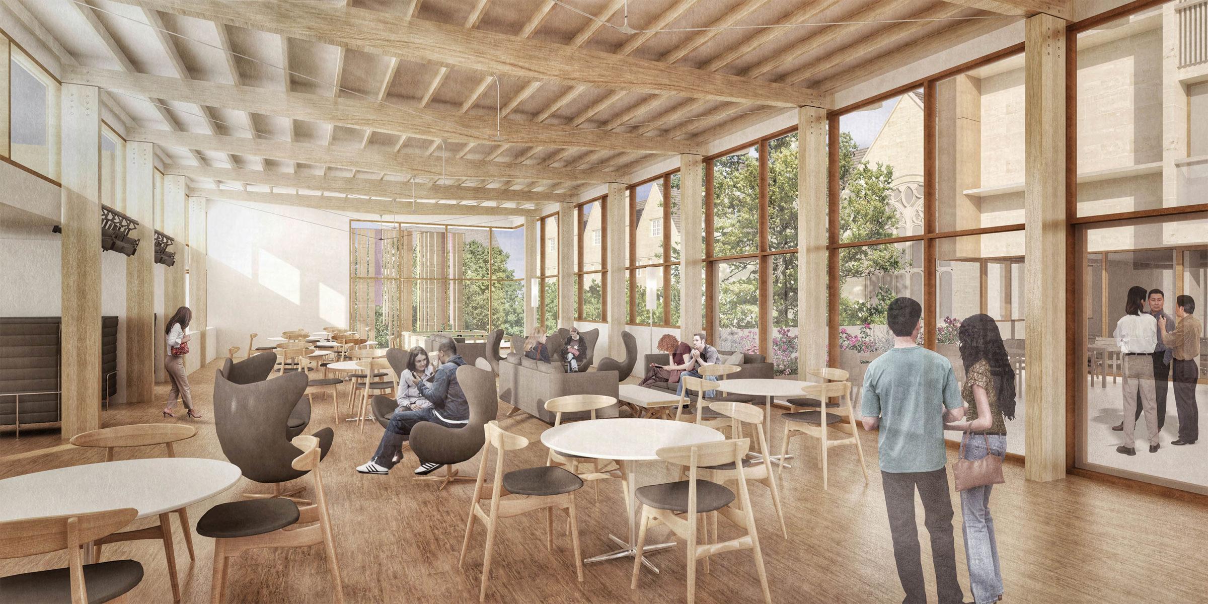 DesignEngine Wadham College Visualisation Interior