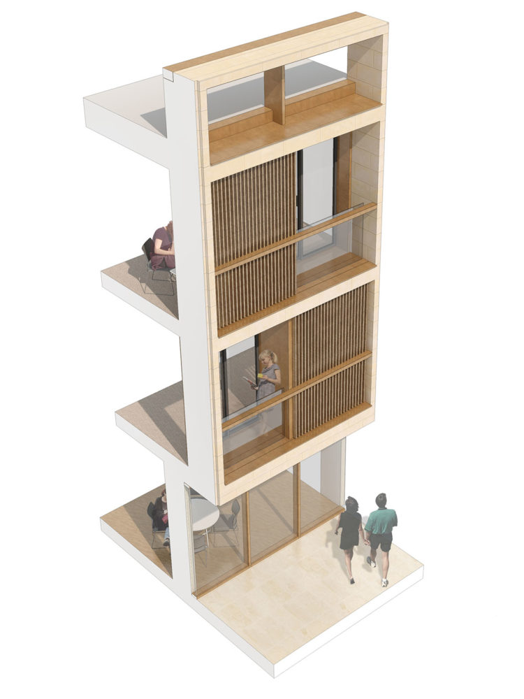 DesignEngine Wadham College Visualisation Bay study