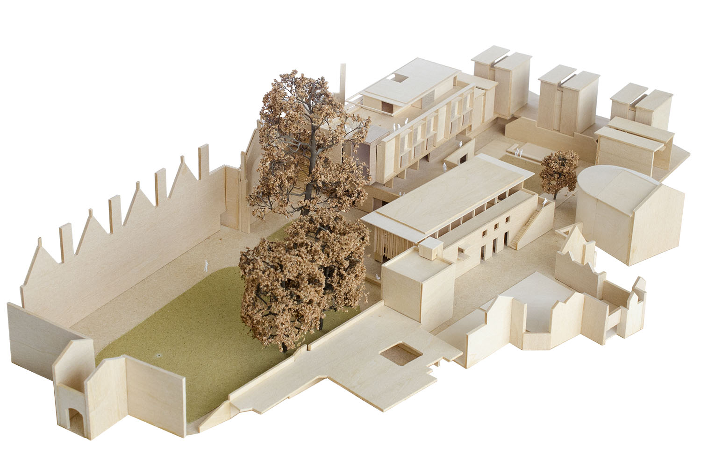 DesignEngine Wadham College Model Photo