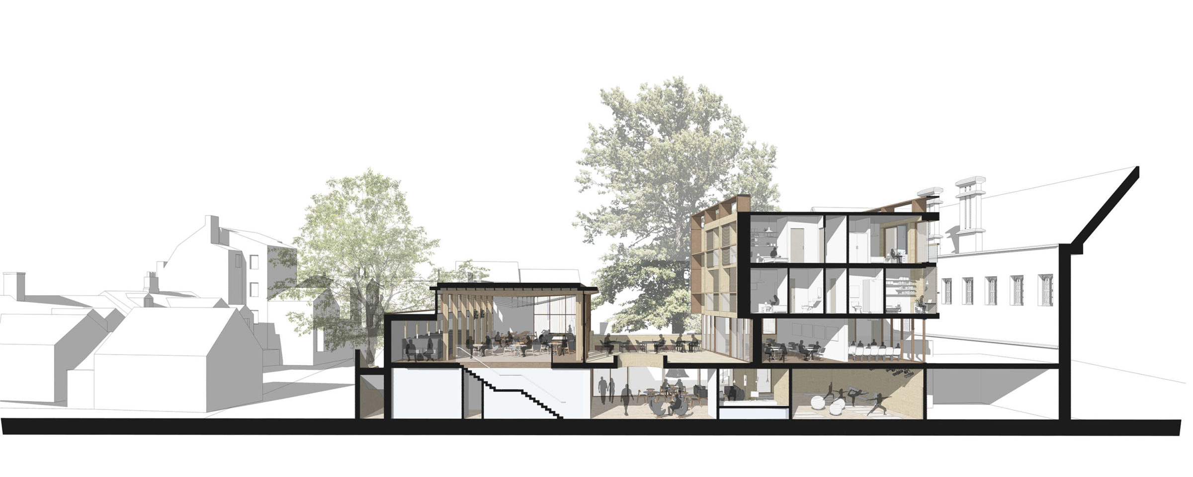 DesignEngine Wadham College Visualisation Section