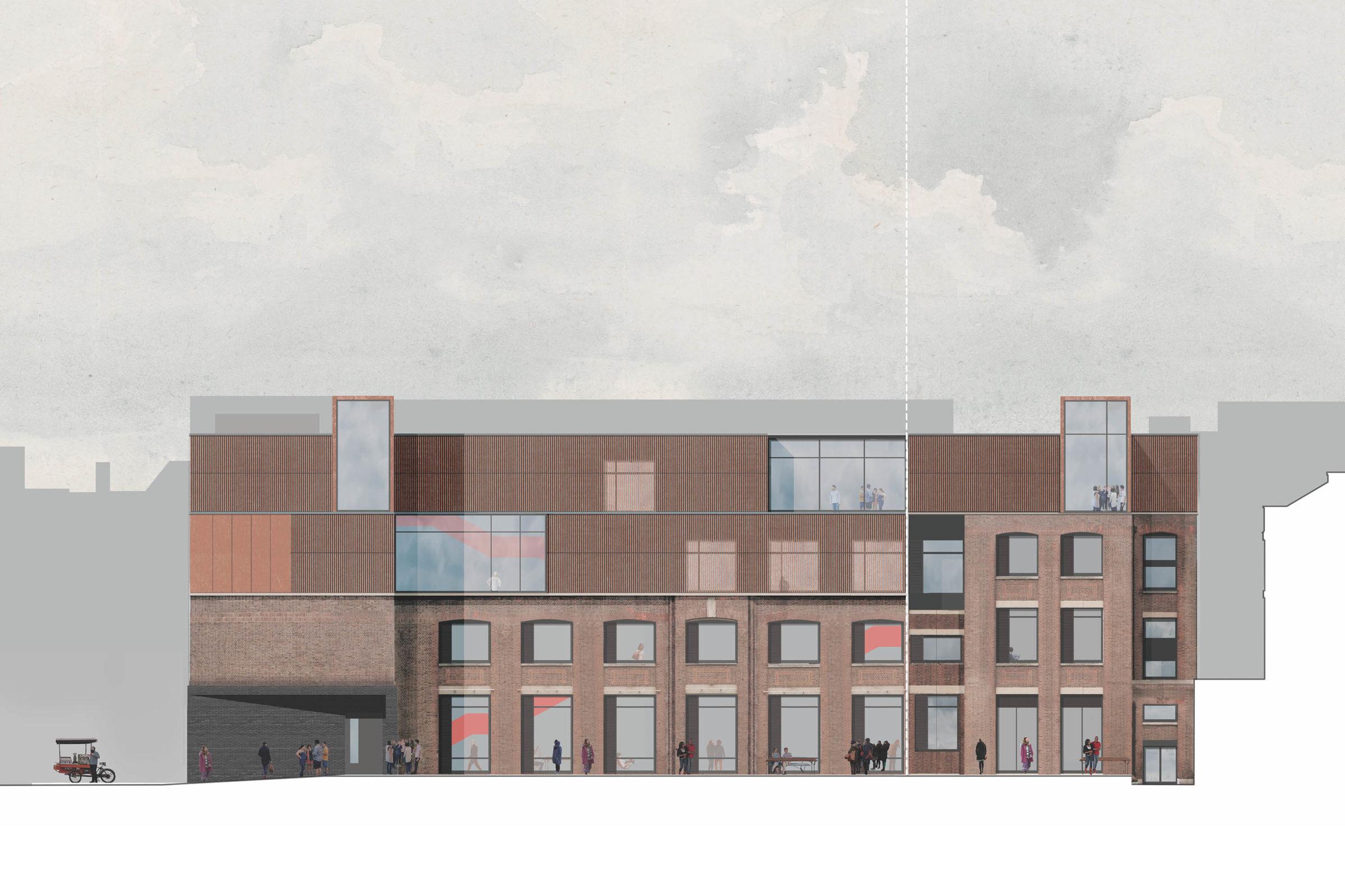 London Metropolitan University \ New Teaching & Learning Building