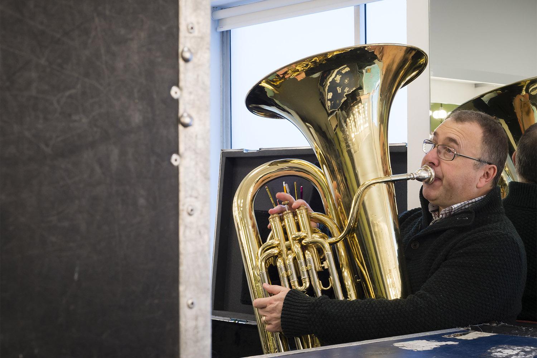 Lighthouse Poole, saxophone player