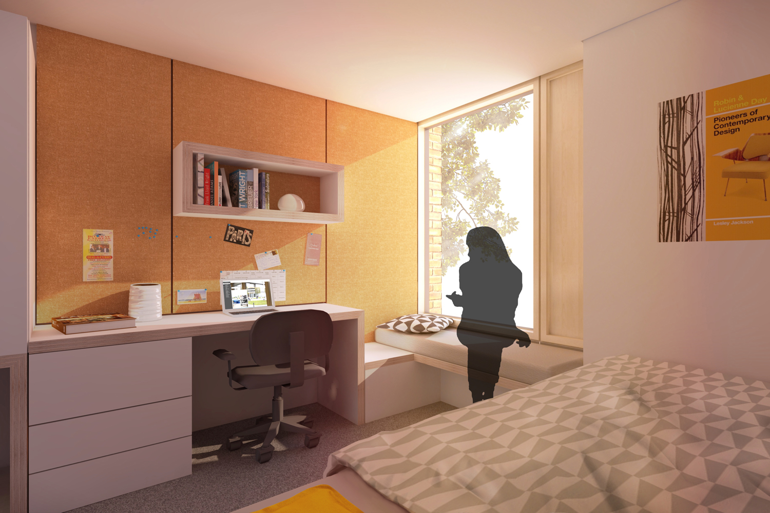 Single Bedroom View of AUB Residential