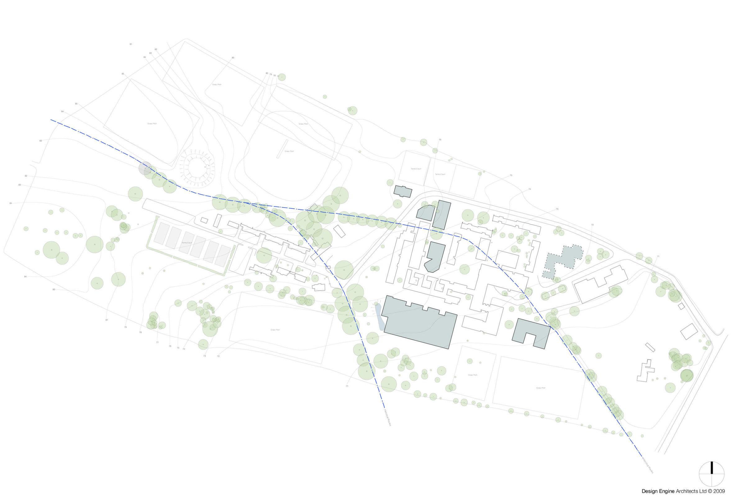 OBU Wheatley Masterplan Buildings For Retention