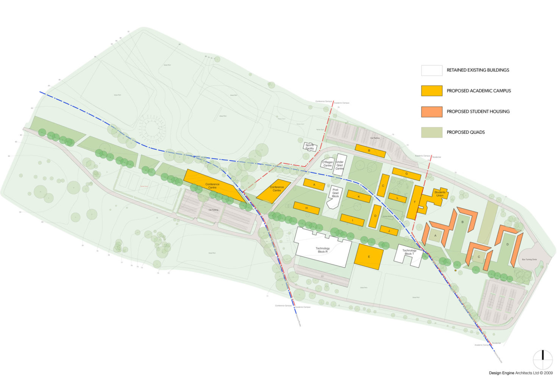 OBU Wheatley Proposed Phase 1 Masterplan