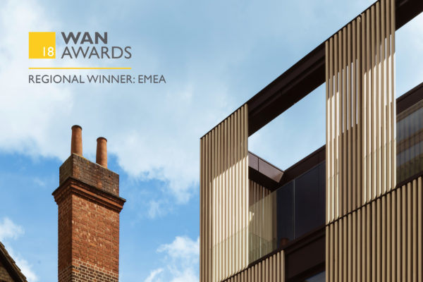 Hubert Perrodo Building Wins WAN Awards