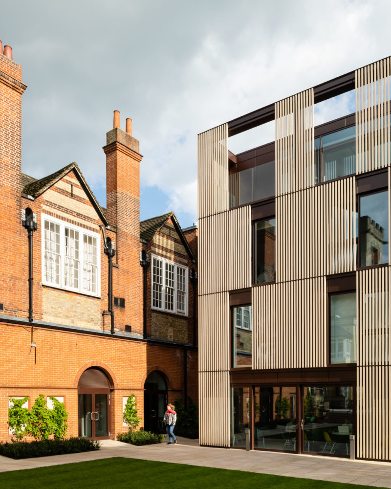 St Peters College, Oxford by Design Engine. Copyright Jim Stephenson 2018Copyright Jim Stephenson 2018