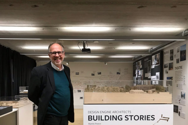 Martin Pearce at Building Stories Launch