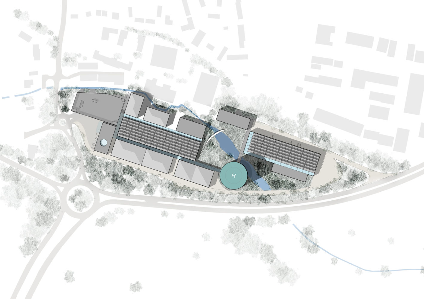 F1 Facility Site Plan