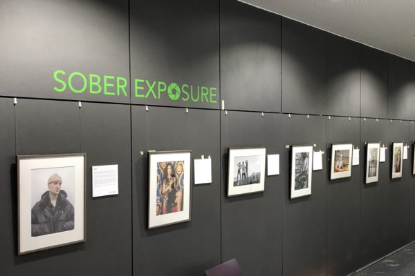 Design Engine supporting photographic exhibition at University of Winchester
