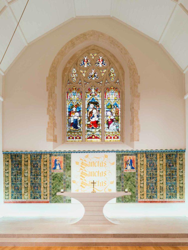 Design Engine UoW Chapel Interior altar