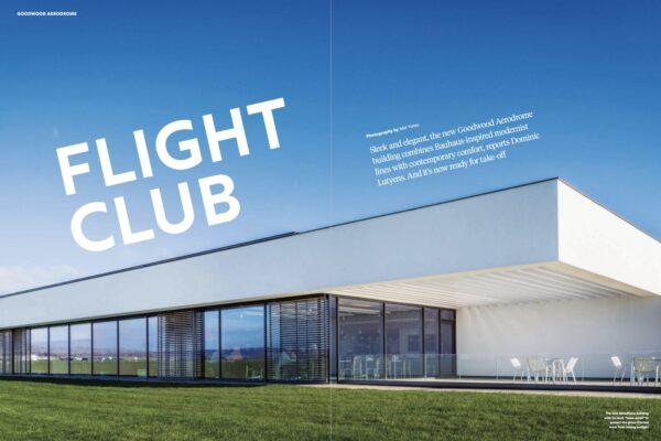 Goodwood Aerodrome features in Estate's Magazine