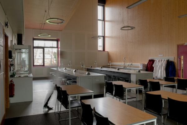 Chemistry labs at Charterhouse Science